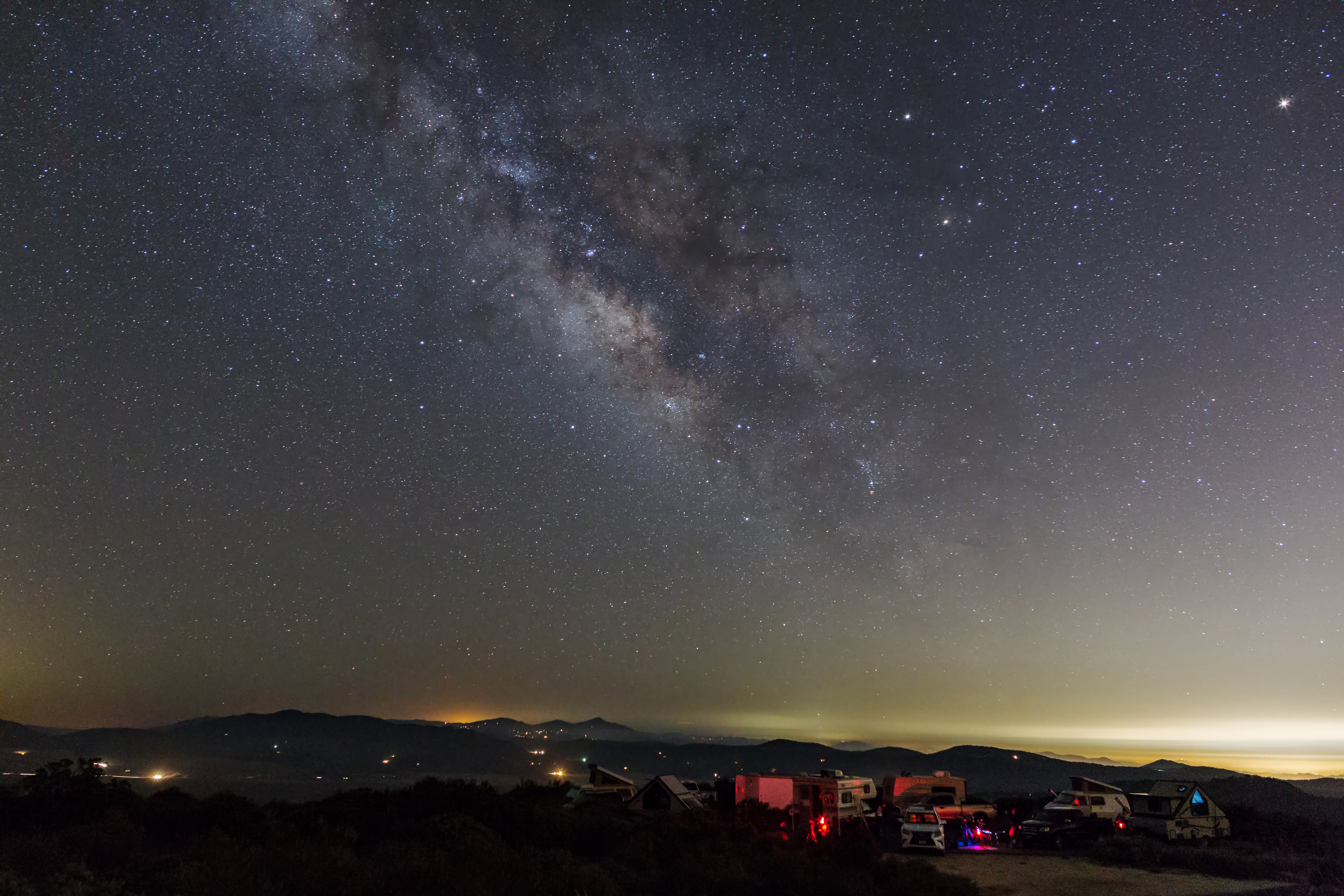 Star Party under the Milky Way