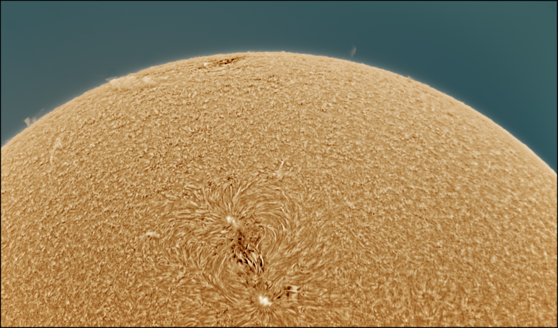 Sun in Ha on9/22017